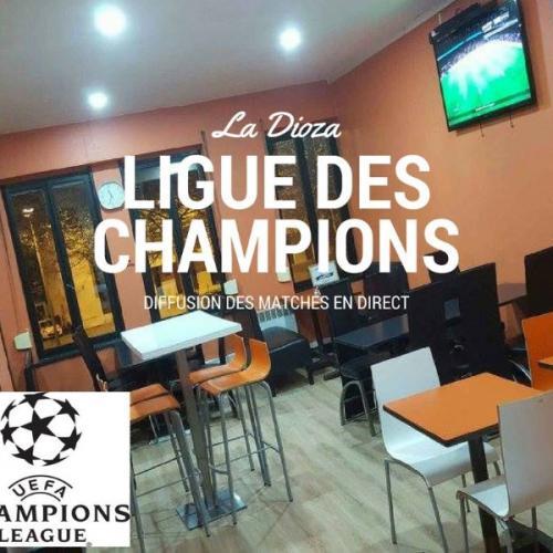 Diffusion de la ligue des champions dans votre pizzeria à Roubaix